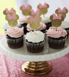 Minnie Mouse Birthday Party Ideas & Photo 1 of 15 Minnie Mouse Birthday Party Ideas & Photo 1 of 15 The post Minnie Mouse Birthday Party Ideas Minnie Mouse Birthday Decorations, Minnie Mouse Theme Party, Minnie Mouse First Birthday, Minnie Mouse Pink, Mouse Parties, Minnie Mouse Favors, Baby Mickey, Birthday Cupcakes, 1st Birthday Parties