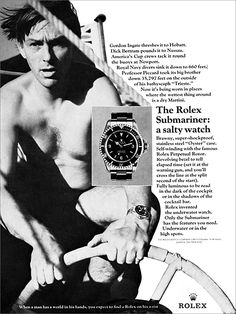 The Rolex Submariner: A Salty Watch.                              …