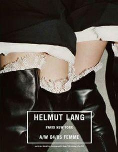 Helmut Lang F/W 2004 by Juergen Teller