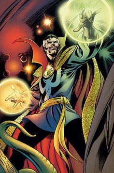 dr strange | Movies, Comics, Games, and Me: Intro to Comics: Sorcerer Supreme ...