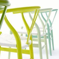 Wegner CH24 Citrus Series http://www.danishdesignstore.com/products/citrus-series-ch24-wishbone-chair-by-hans-j-wegner