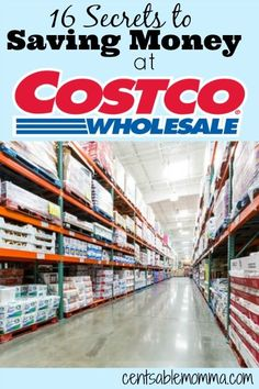 Do you love to shop at Costco?  Check out these 16 secrets to saving money at Costco to help you get the most of your membership.
