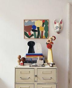 Art Studio Design, Deco Design, Art Decor, Room Decor, Interior Decorating, Interior Design, Vintage Interiors, Inspirational Wall Art, House Colors