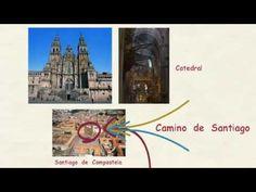 Aprender español: El Camino de Santiago (nivel intermedio) - YouTube