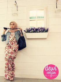 Dewi Neelam by Irna: Style Inspiration : Jumpsuit Flowery by Aluyya