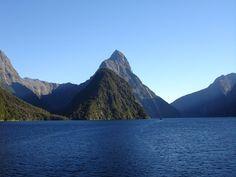 Mitre Peak (New Zealand) New Zealand, Mountains, Nature, Travel, Naturaleza, Viajes, Trips, Off Grid, Natural