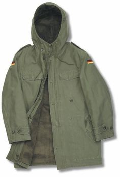 Genuine German Army Nato Parka
