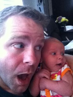 Photos: Dad, baby daughter's 'selfies' go viral