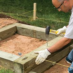 garten am hang How to Install Timber and Brick Steps Patio Steps, Outdoor Wood Steps, Brick Steps, Landscape Stairs, Landscape Timbers, Landscape Design, Backyard Projects, Outdoor Projects, Hillside Landscaping