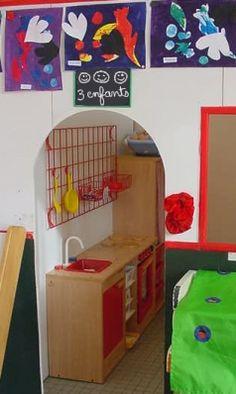 Les coins jeux :  Pour jouer ou travailler ? Corner House, Classroom Decor, Toy Chest, Education, Coins, Home Decor, Murals, Class Decoration Ideas, Classroom