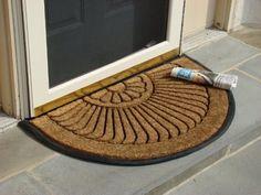 Coco Fiber Half Round In-Laid Doormat 18 x 30 Inch by Kempf, http://www.amazon.com/dp/B0041C9IQU/ref=cm_sw_r_pi_dp_hvhksb10FRHQK