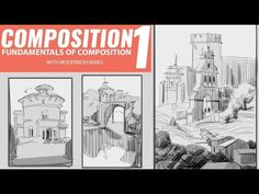 COMPOSITION 1 - Understanding Shapes We Are A Team, Composition Design, Music Channel, Drawing Techniques, Art School, Art Tutorials, Books Online, Documentaries, Shapes