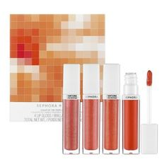 PANTONE has teamed up with beauty company Sephora to create a makeup line that revolves entirely around PANTONE's 2012 Color of the Year, Tangerine Tango.  AH! i want those brushes and lipgloss <3