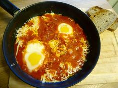 Egg i skjærsilden ! Egg And I, Eggs, Ethnic Recipes, Food, Meal, Egg, Essen, Hoods, Meals
