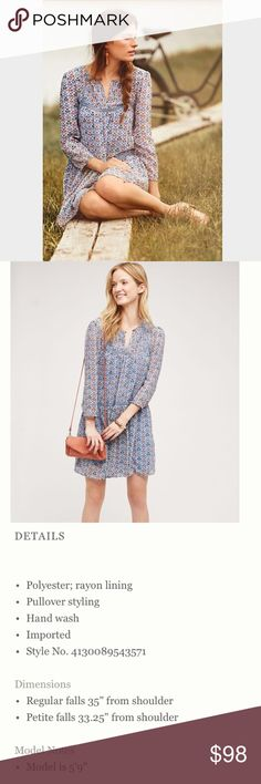 NWT Anthropologie Betony Swing Dress, size 16 See picture #3 for description. Easy breezy spring dress. Anthropologie Dresses