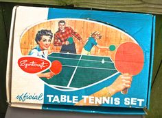 Vintage Sportcraft Table Tennis Set. #Awesome