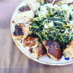 Panecuottu e menesta ( Pancotto e verdure di campo)