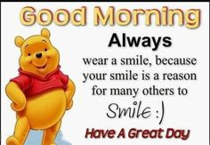 10 Cute Good Morning Winnie The Pooh Quotes Flirty Good Morning Quotes, Positive Good Morning Quotes, Good Morning Inspirational Quotes, Good Morning Funny, Good Morning Friends, Uplifting Quotes, Positive Thoughts, Pooh And Piglet Quotes, Winnie The Pooh Friends