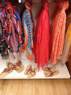spring scarves from the @Gap