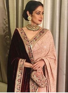 Indian Wedding Outfits, Bridal Outfits, Indian Outfits, Wedding Dresses, Saree Designs Party Wear, Saree Blouse Designs, Looks Party, Sari Dress, Saree Trends