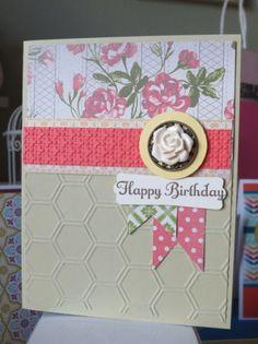 Birthday Card. | My Stampin' Up