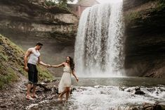 Catharines - 12 Bucket List Waterfalls In Ontario That You Can Swim In - Narcity Ontario Travel, Toronto Travel, New York Travel, Canadian Travel, Canadian Rockies, Travel Photography, Engagement Photography, Portrait Photography, Wedding Photography