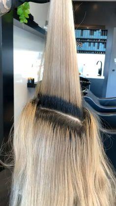 Hair Curling Tutorial, Beauty Salon Design, Hair Color Techniques, Hair Transformation, Cool Hair Color, Curled Hairstyles, Big Hair, Hair Videos, Hair Hacks