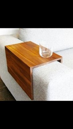 Make with a few pieces of thin timber. Perfect for the couch!
