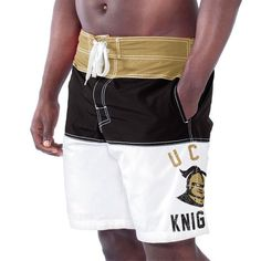 UCF Knights Tommy John Boardshorts - Black - $34.99