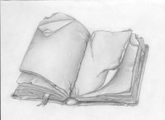 Open Book Drawing