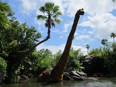 Dinosaur at Universal Studios Jurassic Park in Orlando FL