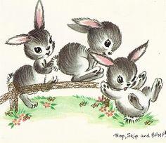 beautiful  easter bunnies
