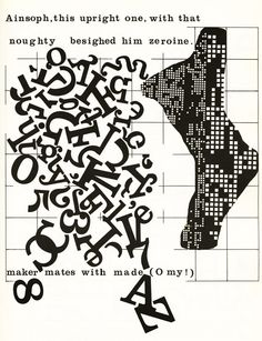Id-Grids and Ego-Graphs: A Typographic Confabulation with Finnegans Wake | Brain Pickings