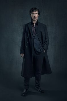 In case you weren't aware, Benedict Cumberbatch owned the role of Sherlock Holmes in the BBC production. Sherlock Bbc, Benedict Sherlock, Sherlock Season 4, Benedict Cumberbatch Sherlock, Sherlock Series, Sherlock Quotes, Johnlock, Martin Freeman, Supernatural