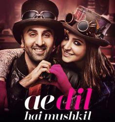 Ae Dil Hai Mushkil Full Movie Free Download HD 720p   Ae Dil Hai Mushkil (2016) Torrent