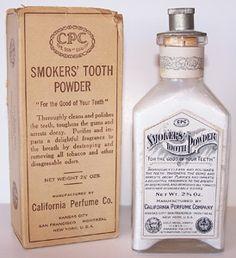 Smoker's Tooth Powder - 1920