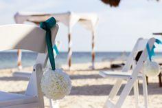 Love this flower balls! http://blog.destinationweddings.com/blog/bid/64001/What-s-in-a-destination-wedding-canopy