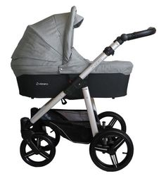Venicci Soft black 2 in 1 Pram & Pushchair in Light grey with bag footmuff & pvc Getting Ready For Baby, Changing Bag, Ventilation System, Travel System, Prams, 2 In, Baby Strollers, Car Seats, Pure Products