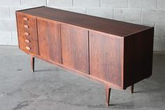 Swedish Rosewood Sideboard