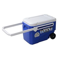 Igloo Products Corporation 00045756 Contour Glide Cooler 38 quart Blue ** Be sure to check out this awesome product.
