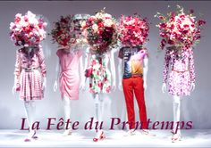 Pinterest Decoration VITRINE PRINTEMPS | est la fête du printemps dans les vitrines du Printemps, les ...