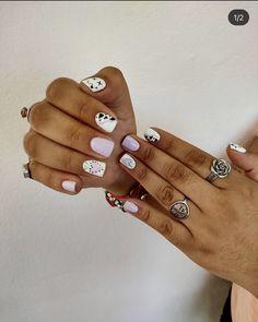 Gel Polish Designs, Abstract Nail Art, Dream Nails, Art Ideas, Manicure, Makeup, Hair, Enamels, Finger Nails