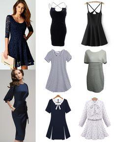 ·Colores, Tallas y Precio según el modelo· #Shalala #Ropa #Accesorios #Vestido #Negro #Casual #Azul #Rayas #Encaje #Oficina #Elegante