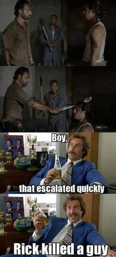 Nobody messes with Rick this season.