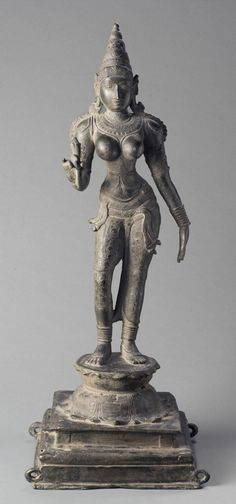 Bhumi Devi, the Earth Goddess, south indian bronze