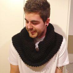 Black snood! Crochet, Black, Fashion, Moda, Black People, Fashion Styles, Ganchillo, Crocheting, Fashion Illustrations