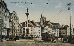 Warszawa, Plac Zamkowy, [post 1908]
