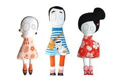 Madame Mo's French-Japanese dolls are so weird I can't help but love them to pieces!