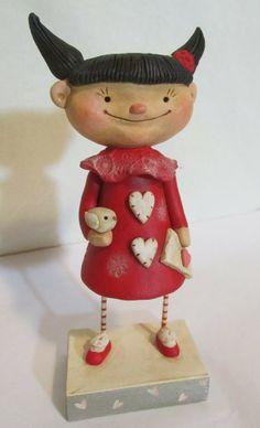 http://feedly.com/k/1lFBEq0 just love her work Pumpkinseeds Originals Folk Art Janell Berryman / by Janell Berryman artist-owner