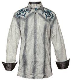Roar Clothing Midway Shirt - Roar Mens - $98.98  #fall #longsleeve #white #shirt